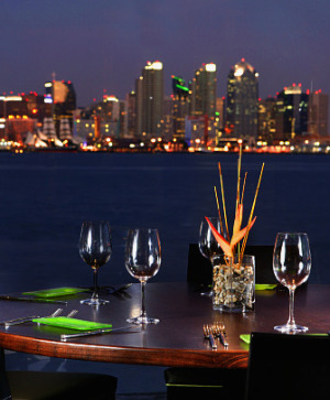 C Level Restaurant on Harbor Island in San Diego