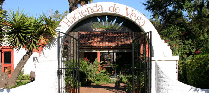 Front Entrance at Hacienda de Vega