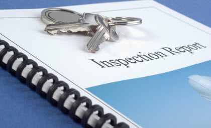 Professional property inspection report for San Diego home buyers.