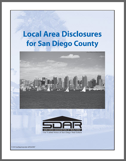 SDAR's Local Area Disclosures