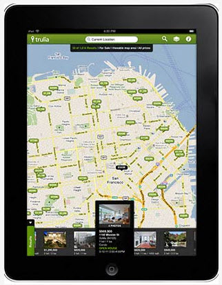 iPad Applications for buying San Diego Real Estate